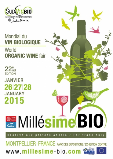 Mill sime bio 2015 le salon mondial du vin bio se tient for Salon vin montpellier