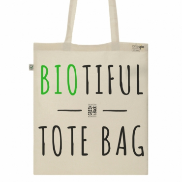 Tote Bag en coton Bio - Toile Ecru / Raw...