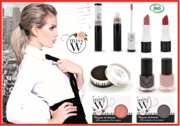 Maquillage bio : Miss W lance sa collection...