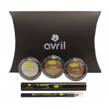 "Kit de maquillage bio Avril    Kit ""Regard..."