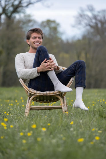 Label chaussette : Des chaussettes made in...