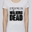 T-shirt Femme Stella Loves The walking dead par tunetoo    Un t-shirt en coton bio et