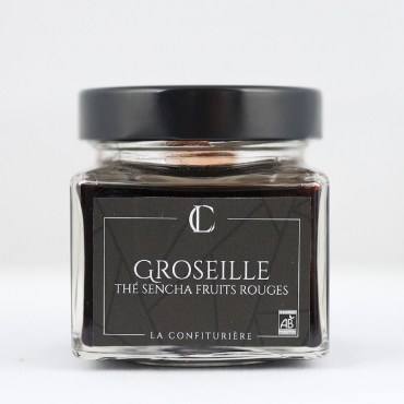 Confiture bio Groseille Thé Sencha Fruits...