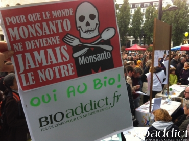 Marche contre Monsanto à Paris le 12 octobre 2013