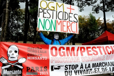 Marche contre Monsanto à Paris le 12 octobre...