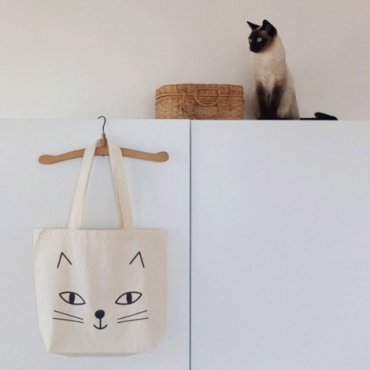 SHOPPING BAG bio CATS - AUDREY JEANNE...