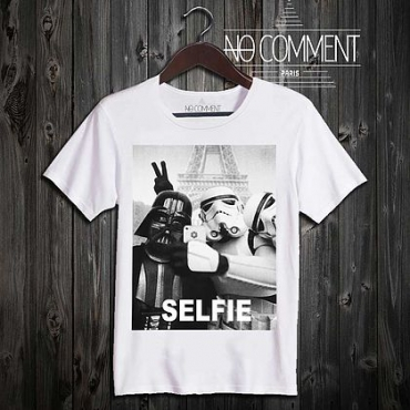 T-shirt Star Wars Selfie en coton bio, No...
