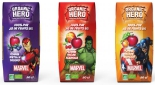 Organic Hero : des jus de fruits bio à l'effigie des superhéros de Marvel