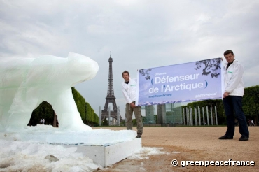 Save the Arctic à Paris