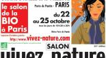 Vivez nature : le grand salon de la Bio à Paris, du 22 au 25 octobre
