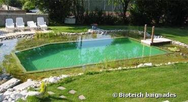 Piscine d eau naturelle loches for Tarif piscine naturelle