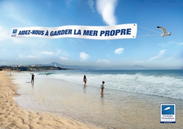 Campagne pour l'ONG Surfrider