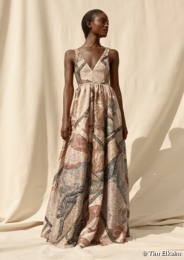 H&M Conscious Exclusive SS20. Robe longue...