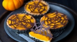Mini pumpkin pies bio d'Halloween