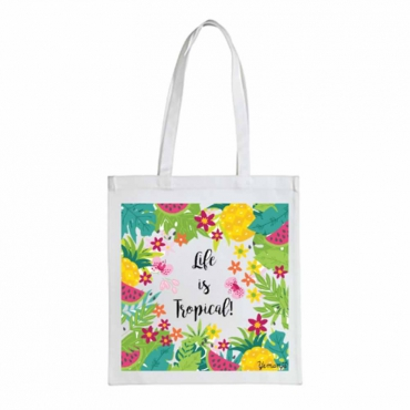 Tote Bag en coton bio équitable Life Is...