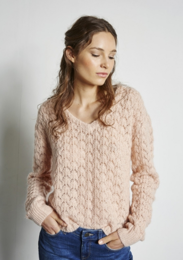 PULL OLIVO MUSE    Pull boxy en maille...